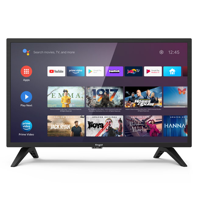 """Engel Smart Android TV LED HD Ready 24"""" Negro"""