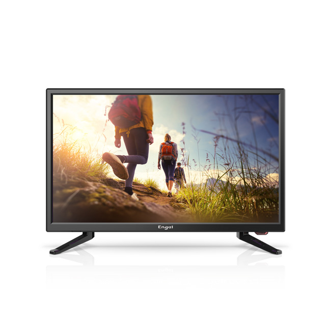 "Ever-Led TV 22"" Especial camping Negro"